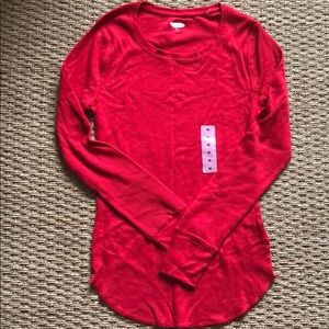 Red thermal shirt Old Navy